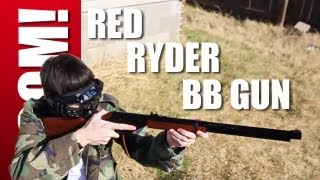 """ZOMBIE"" CHRISTMAS SPECIAL: RED RYDER BB GUN! ZOMBIE GO BOOM!"