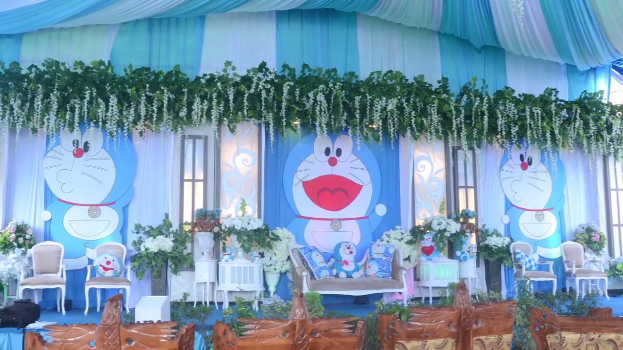 Unik Pengantin Tema Serba Nuansa Doraemon Fawzy Ratna