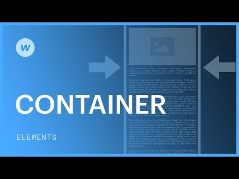 Using containers in web design - Webflow tutorial