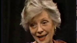Jane Greer--Rare TV Interview