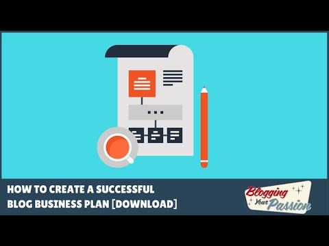 blogging business plan