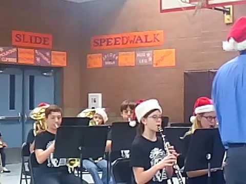 Las Brisas elementary school 6th grade band 2016
