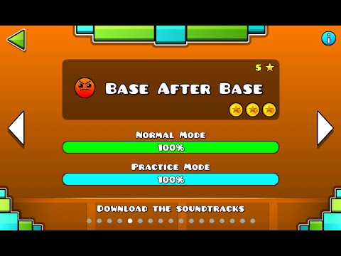 Geometry Dash - Base After Base 100% Complete