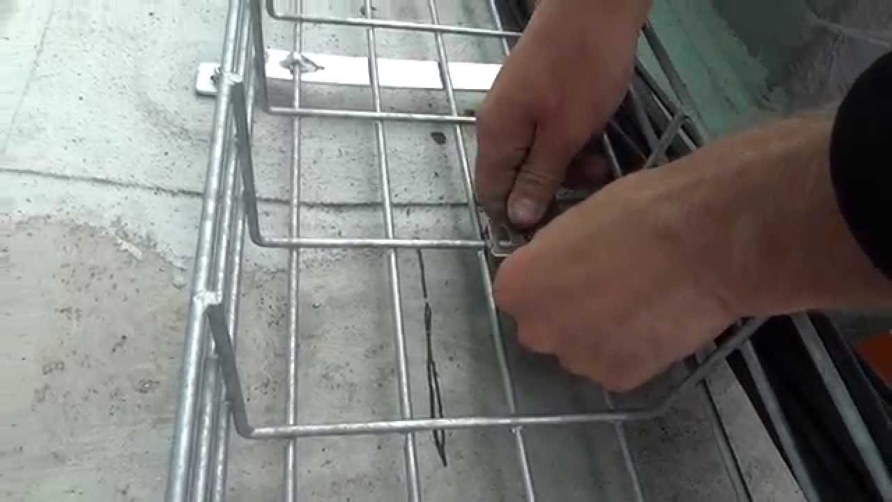 Cable Tray Separator - How To Split a Cable Rail for DC and AC ...