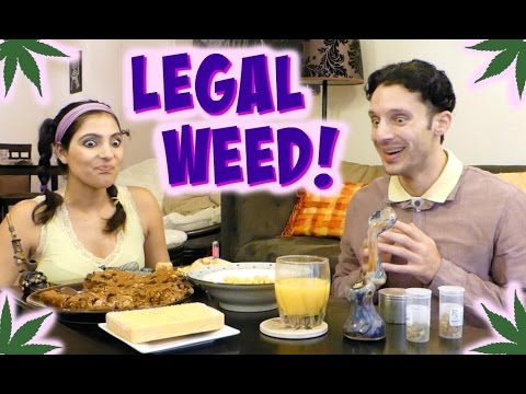 Legal Weed Marijuana Party | Pillow Talk TV | Jill and Jack comedy web series