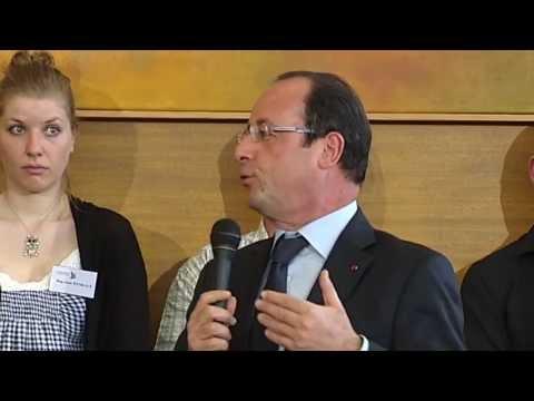 Visite de François Hollande à Lanester