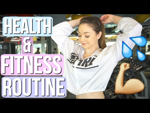 HOW TO GET IN SHAPE! My Fitness Routine 2017! | Meredith Foster