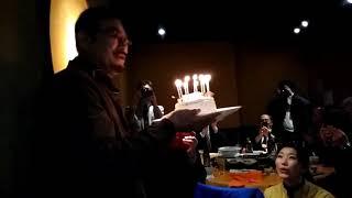 千葉真一先生のお誕生日会にお招きいただきました。 ドクターズ水素セレ...