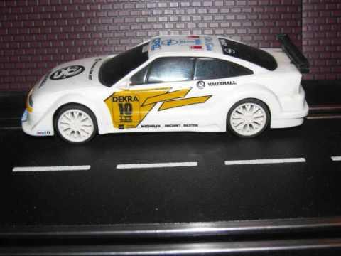 Hornby SCX D2 OPEL Vauxhall Team Joest DEKRA