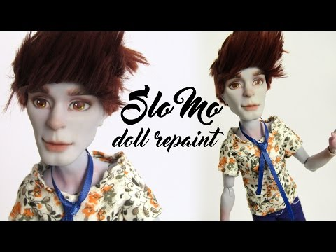 Slo Mo doll repaint