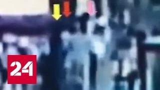 Видео нападения на Ким Чен Нама появилось в Сети