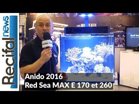 Présentation Red Sea Max E LED 170 et 260