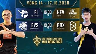 Team Flash chắc suất top 2, EVS chiến thắng bất ngờ trước BOX - Vòng 14 Ngày 1 - ĐTDV mùa Đông 2020