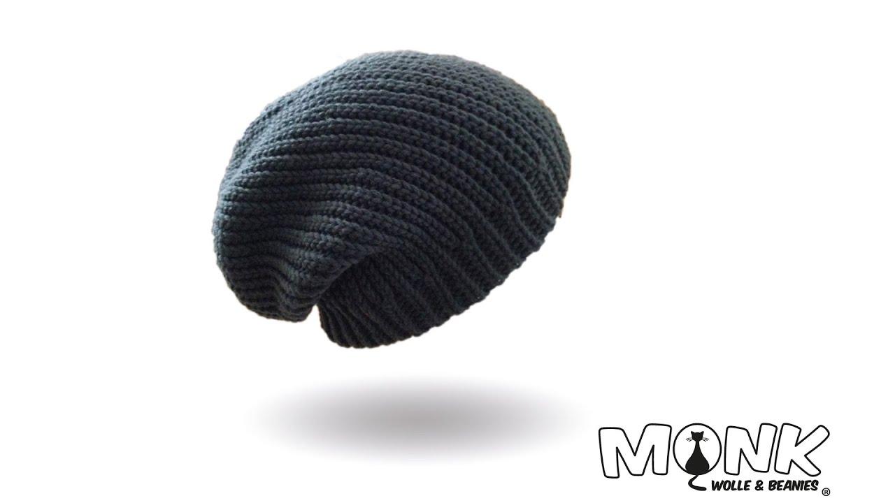 Long Beanie Bosnisch Häkeln Mütze Häkeln Kettmaschen Häkeln