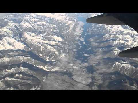 20151126 11 02 Slocan Lake (?) BC _ Over Rocky Mountains in southern BC