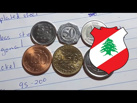 Current coins used in Lebanon