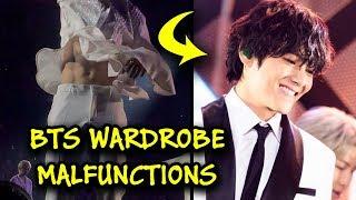 BTS - Abs & Wardrobe Malfunctions 😱