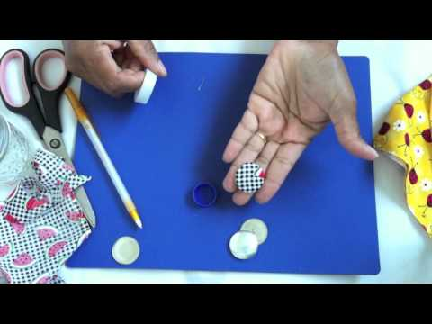 How to make Fabric Buttons