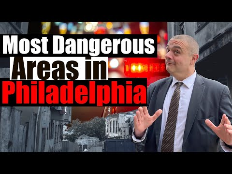 Top 10 Worst Neighborhoods In Philadelphia - Where NOT To Live In Philly