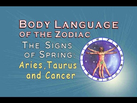Body Lanaguage of Aries, Taurus & Gemini