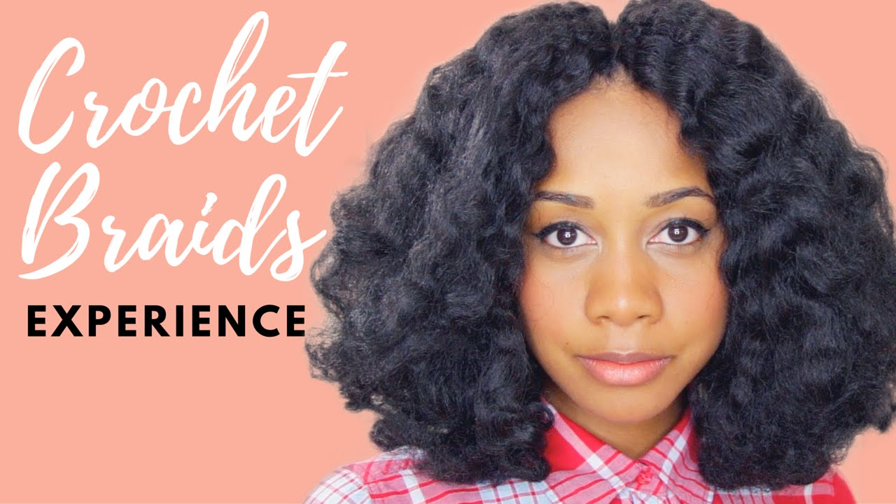 My Crochet Braids Experience Protective Style - YouTube
