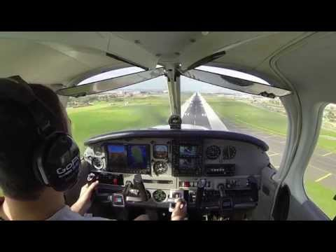 Piper PA-28 Circuits Around LMML w/ ATC