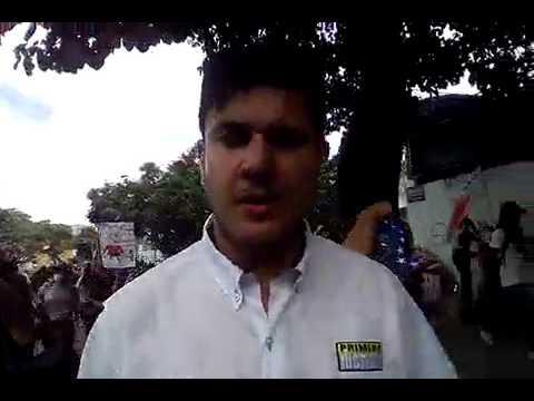 Perímetro Bello Campo: Comienza represión contra manifestantes marcha Vamos Al TSJ