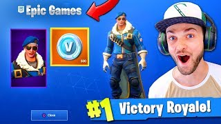 EPIC GAMES gab mir eine *UNRELEASED* SKIN in Fortnite! (400 $ SKIN)