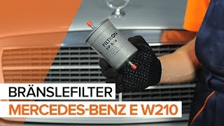 Hur byter man Hållare motormontering MERCEDES-BENZ E-CLASS (W210) - online gratis video