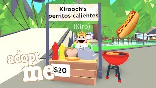 🌭 BUY THE NEW *HOT DOGS* STORE AND WIN OVER 1000 BUCKS ON ADOPT ME ROBLOX