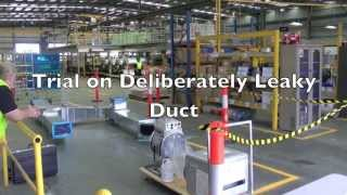 Aeroseal Duct Sealing Demo at Ductmakers Carrum Downs August 2013 Thumbnail