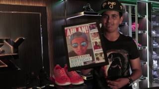 Rashed Belhasa speaks to Ahlan! about his sneaker collection