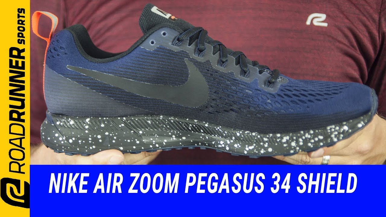 100% authentic 191fc 12e8d Nike Air Zoom Pegasus 34 Shield | Fit Expert Review