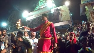 An Evening in Rishikesh, India: The Beautiful Aarti Ceremony