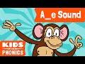 A_E | Fun Phonics | How to Read | Magic E | Made by Kids vs Phonics