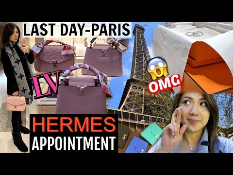 MY HUSBAND GOT THE HERMES APPOINTMENT + I GOT LV GIVEAWAY 👜🎁 FOR YOU GUYS | CHARIS IN PARIS 💕