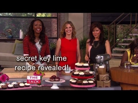 Candace Nelson Bakes Cupcakes On The Talk!