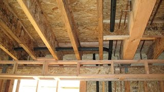 How To Structurally Support Load Bearing Walls – Truss Joist Floor Framing Repairs