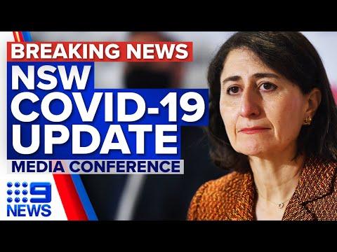 NSW records 1480 new local COVID-19 cases | Coronavirus | 9 News Australia