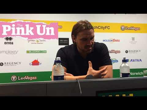 Norwich City boss Daniel Farke on Hull City comeback