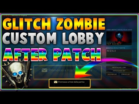 🌟1.07🌟 BO4 ZOMBIE CUSTOM LOBBY GLITCH 🔥 | BO4 ONLINE XP LOBBY GLITCH AFTER PATCH 1.07