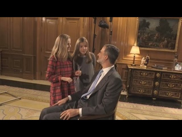 Así es Felipe VI en la intimidad familiar