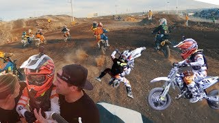 SEVEN-YEAR-OLD KID'S FIRST DIRT BIKE RACE   FIRST TIME RACING MOTOCROSS