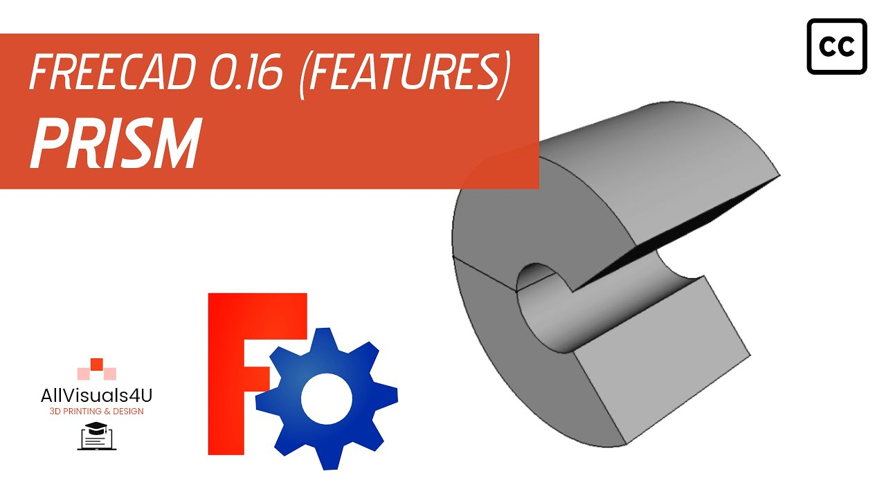 FreeCAD Tutorial - Feature - Revolve (Part Design Workbench)