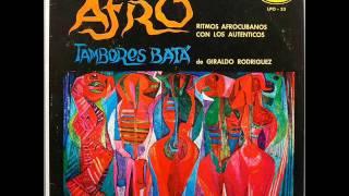 Giraldo Rodriguez y sus tambores batá - Ritmos afrocubanos con los autenticos (Part 1)