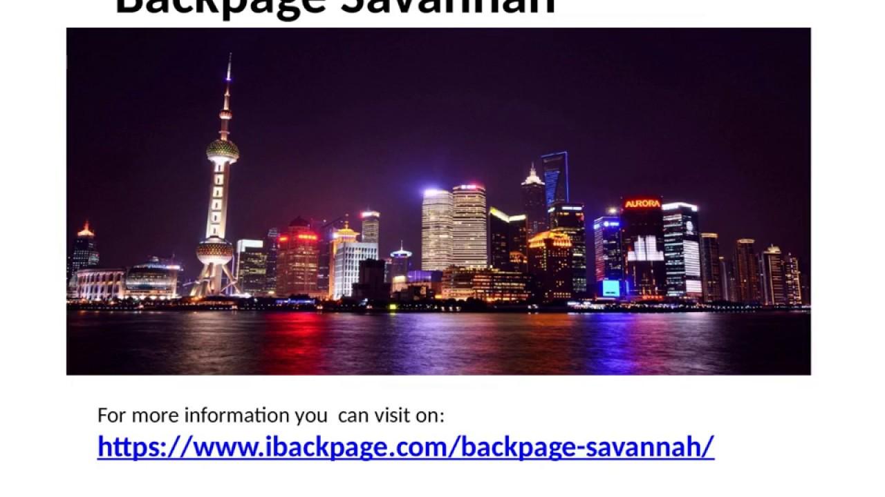 Backpage Savannah Savannah Backpage