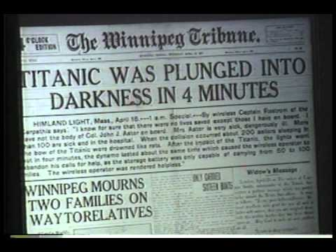 Thru the Pages: The Sinking of the Titanic