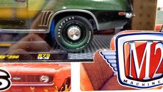 M2 Machines 1969 Chevy Camaro Green /'69 R67 Chase