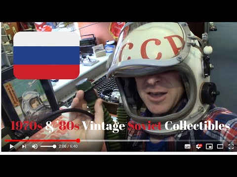 Soviet LIFESTYLE Museum  VINTAGE USSR Antiques  (Budget Travel Russia)  {St. Petersburg, RUSSIA}