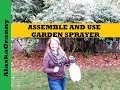 Garden Sprayer How To Assemble and Use HDX 1 Gallon Multi Purpose Sprayer